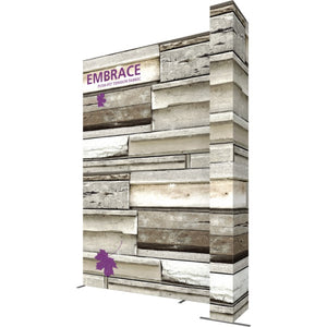 12 x 15 Ft. (4 x 3 Quad) Embrace Stackable Double Sided Trade Show Display With End Caps - Right View