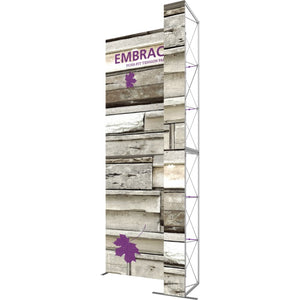 7 x 15 Ft. (2 x 3 Quad) Embrace Stackable Double Sided Trade Show Display Without End Caps - Right View
