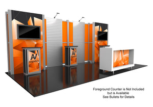 Hybrid Pro Modular Trade Show Exhibit Kit 16 - Up Close