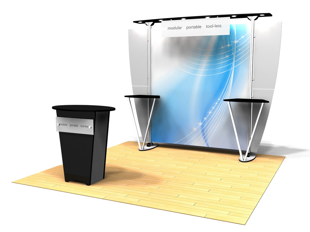 10.04 Exhibitline 10' x 10' Trade Show Display Package