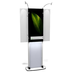 Exhibitline LB1 Trade Show Lightbox Kiosk Display