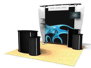 10.09 Exhibitline 10' x 10' Trade Show Display Package
