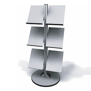 Exhibitline LIT2.V2. Six Shelf Literature Stand