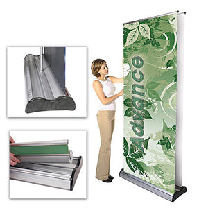 Replacement Cartridge With Graphics for Advance Retractable Banner Stand