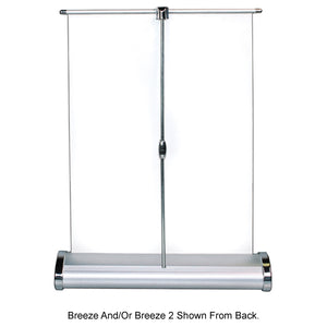 Breeze Table Top Banner Stand