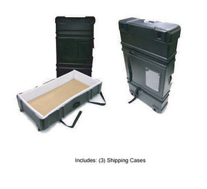 EX.1020.4 Exhibitline 10' x 20' Trade Show Display Package - Shipping Case