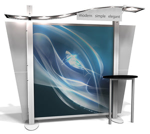 XRW.0.1 XRline 10' x 10' Trade Show Display - Alternate View 1
