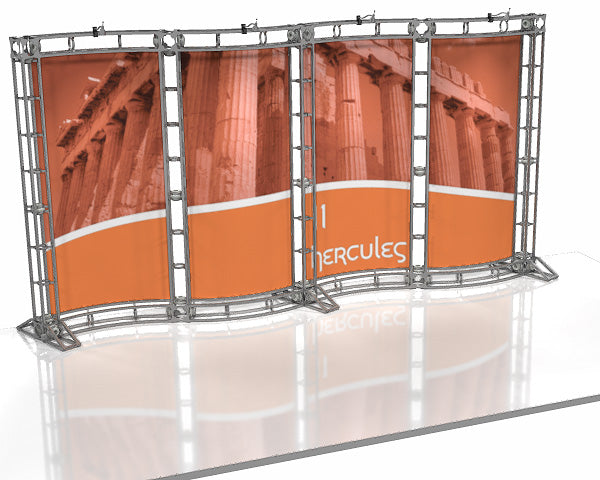Hercules 10' x 20' Truss Display - Kit 11 - Replacement Graphics Package