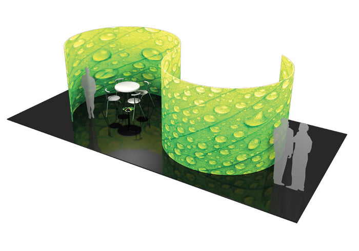 Formulate Serpentine Conference Wall Display