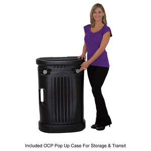 Included OCP Pop Up Case For Storage & Transit