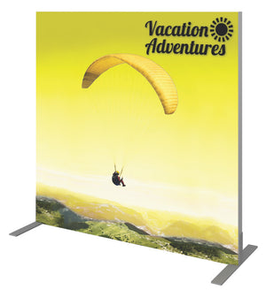 "Vector Frame Banner Display 02 (Square) – 48.11"" W X 47.49"" H - Up Close"