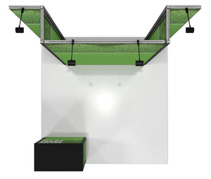 Vector Frame 4 10' x 10' Trade Show Display Kit - Alternate View
