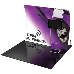Formulate VC9 10' x 10' Vertically Curved Trade Show Display - Product View 2