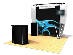 10.07 Exhibitline 10' x 10' Trade Show Display Package