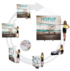 Hopup Trade Show Display - Setup/Installation Process
