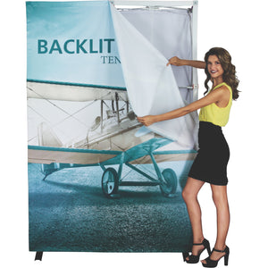 HopUp Backlit Trade Show Display Setup 05