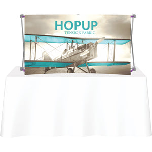 Curved HopUp Table Top Display Without End Caps - Front View