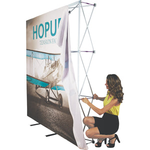 HopUp Tension Fabric Display Setup Step 03