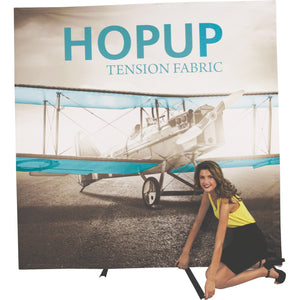 HopUp Tension Fabric Display Setup Step 07