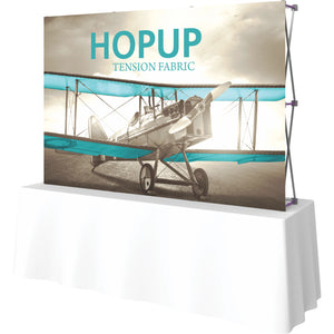 Straight HopUp Table Top Display Without End Caps - Right Side View