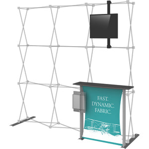 Hopup Trade Show Display Dimension Accessory Kit 02 - Right Side View