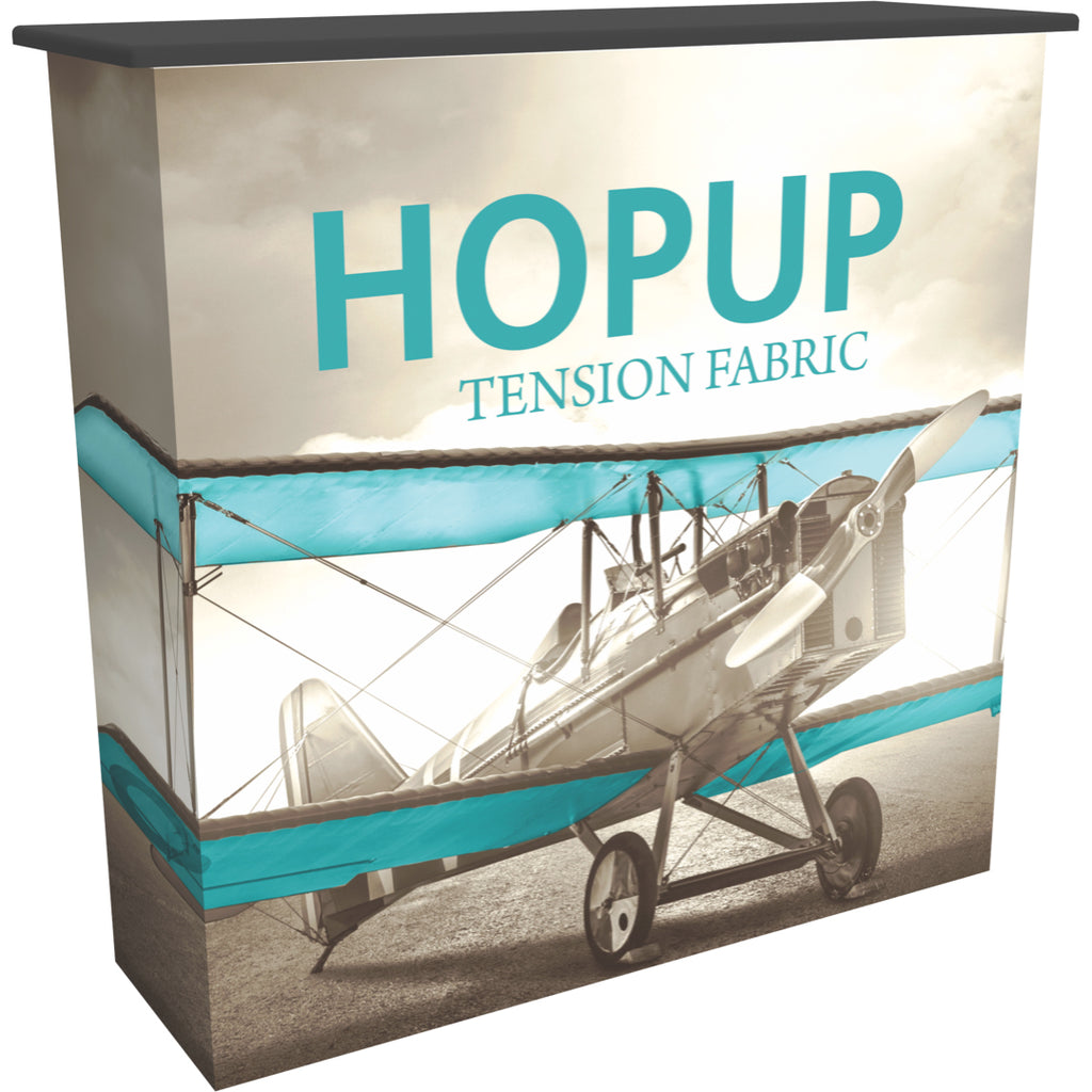 HopUp Convertible Trade Show Counter - Left Side View
