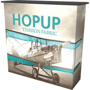 HopUp Convertible Trade Show Counter - Right Side View
