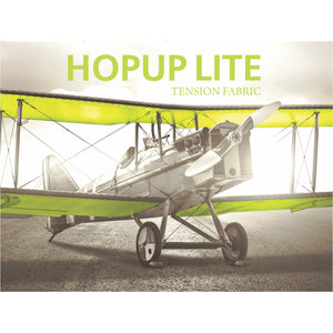 Straight HopUp Lite Trade Show Display Without End Cap - Front View