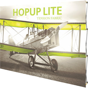 Straight HopUp Lite Trade Show Display Without End Cap - Right Side View