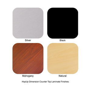 HopUp Dimension Counter Top Laminate Finishes