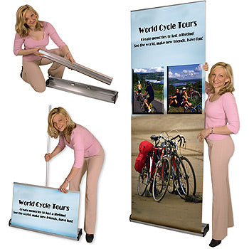 Replacement Cassette With Graphics for Merlin Retractable Banner Stand
