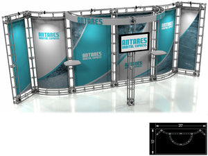 Antares Express 10' x 20' Truss Trade Show Display Booth