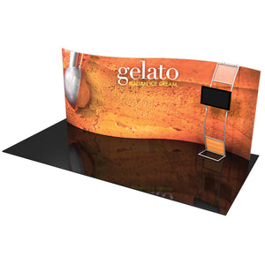 Formulate SC3 10' x 20' Serpentine Curved Trade Show Display - Product View 1