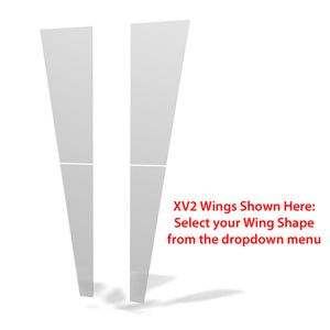 XVline XVks Kiosk Display - Wing Shape Options