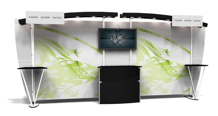 EXB.1020.2 Exhibitline 10' x 20' Trade Show Display