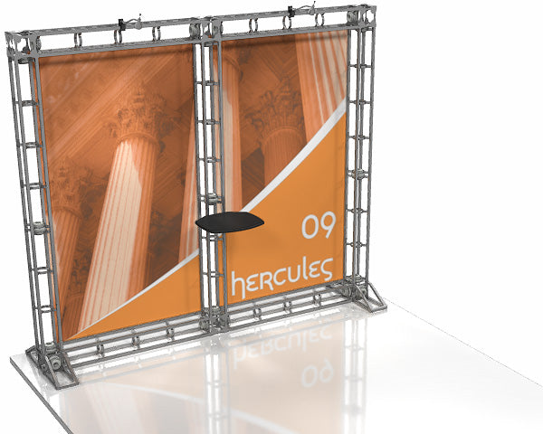 Hercules 10' x 10' Truss Display - Kit 9 - Replacement Graphics Package
