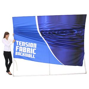 Formulate HC2 10' x 10' Horizontally Curved Trade Show Display  - Product Assembly - Stage 2