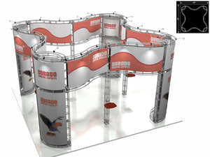 Dorado Express 20' x 20' Truss Trade Show Display Booth