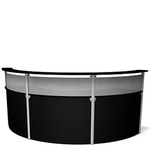 Exhibitline RDL45.3 Trade Show Reception Desk Counter