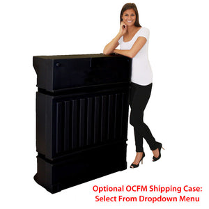 Rectangle Orbital Truss Counter Display - OCFM Shipping Case