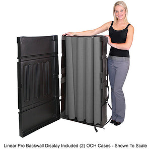 Linear Pro 10' x 10' Backwall Display Kit 22