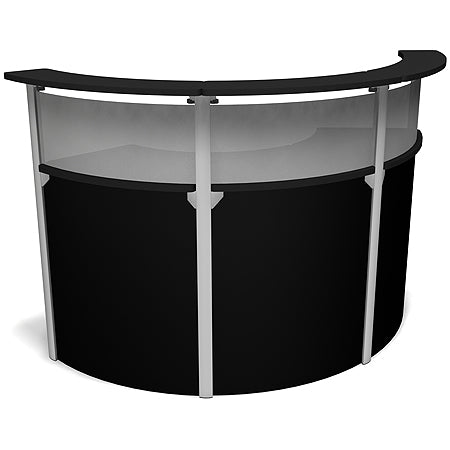 Exhibitline RD45.3 Trade Show Reception Desk Counter