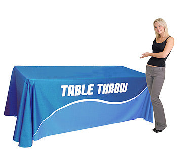 6 Foot Standard Fully Printed Table Throw