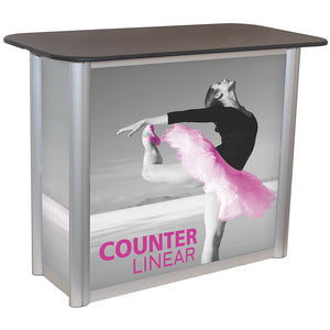 Linear Trade Show Counter