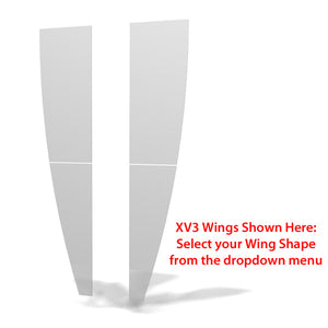 XV2 XVline 10' x 10' Trade Show Display - Wing Shape Options