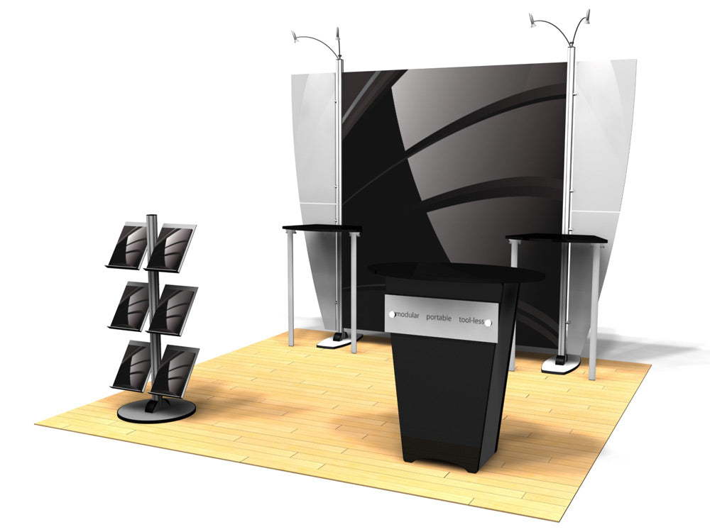 10.05 Exhibitline 10' x 10' Trade Show Display Package