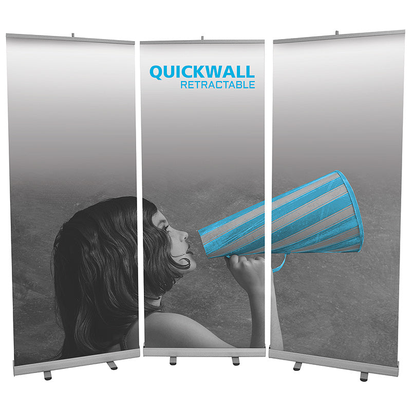 Quickwall Banner Stand Wall Display