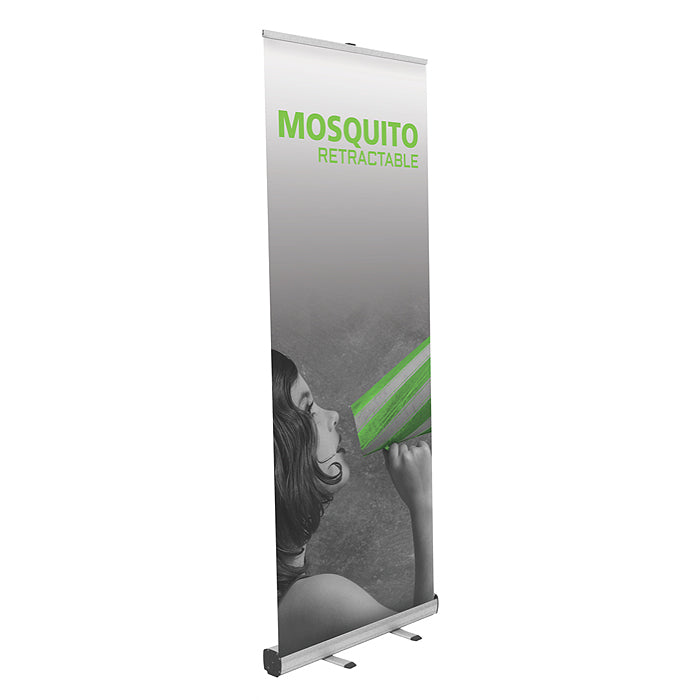 Mosquito 800 Banner Stand - Up Close