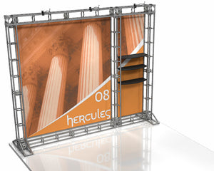 Hercules 10' x 10' Truss Display - Kit 8 - Replacement Graphics Package