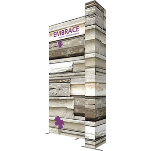 10 x 15 Ft. (3 x 3 Quad) Embrace Stackable Single Sided Trade Show Display With End Caps - Right View